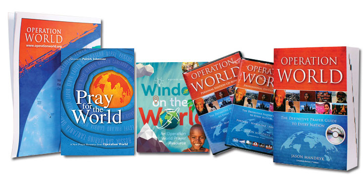 All Operation World Publications
